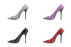 Stilleto verfolgte Schuhe vektor abbildung