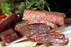 Stilleven 2 van het vlees Stock Foto