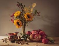 Stilleven Autumn Bouquet Royalty-vrije Stock Foto