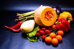 Stilleven - geassorteerde groenten Stock Afbeeldingen