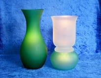 Stilleven in groen en blauw 2    stock afbeeldingen