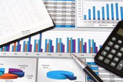 Stilleven het bedrijfs van het Rapport royalty-vrije stock afbeelding