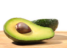 Stilleven met avocado Stock Afbeelding