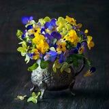 Stilleven met bloemen stock foto
