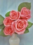 Stilleven met bloemen Royalty-vrije Stock Afbeelding