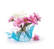 Stilleven met bloemen Royalty-vrije Stock Foto's