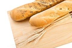 Stilleven met brood Stock Afbeelding