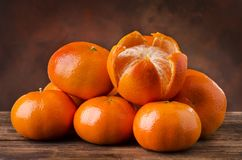 Stilleven met citrusvrucht van Sicilië Stock Fotografie