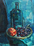 Stilleven met Druiven stock illustratie