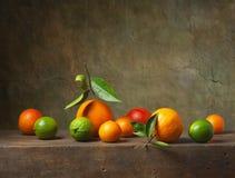 Stilleven met fruit Royalty-vrije Stock Foto's