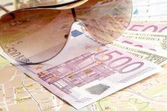Stilleven met geld Stock Fotografie
