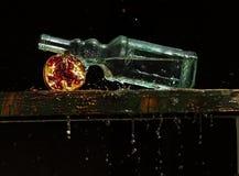 Stilleven met granaatappel Stock Foto