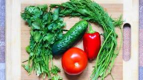 Stilleven met groenten Royalty-vrije Stock Fotografie