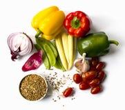 Stilleven met groenten Stock Afbeelding