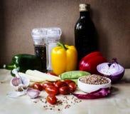 Stilleven met groenten Royalty-vrije Stock Afbeelding