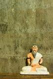 Stilleven met kluizenaarstandbeeld, Medische Leraar van India Stock Foto's