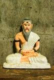 Stilleven met kluizenaarstandbeeld, Medische Leraar van India Royalty-vrije Stock Afbeeldingen
