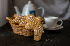 Stilleven met koekjes Stock Foto