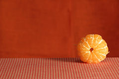 Stilleven met mandarin. Stock Fotografie