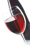 Stilleven met rode wijnen Stock Fotografie