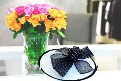 Stilleven met rozen Royalty-vrije Stock Fotografie