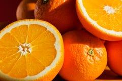 Stilleven met sinaasappelen Stock Fotografie