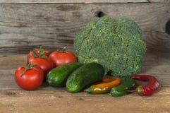Stilleven met verse groenten Royalty-vrije Stock Afbeelding