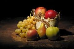 Stilleven met vruchten stock foto