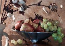 Stilleven met vruchten royalty-vrije stock afbeelding