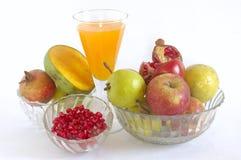 Stilleven met vruchten. royalty-vrije stock foto's