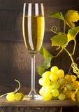 Stilleven met wijn Stock Afbeeldingen