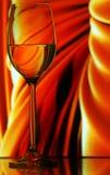 Stilleven met wijnglas royalty-vrije stock afbeelding
