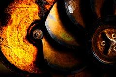 Stilleven Oude propeller Stock Afbeelding