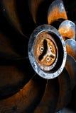 Stilleven Oude propeller Stock Foto