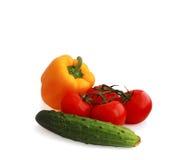 stilleven van groenten stock afbeelding