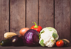 Stilleven van groenten Stock Afbeeldingen