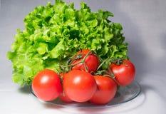 Stilleven van groenten op wit Royalty-vrije Stock Fotografie