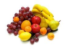 Stilleven van vers fruit Stock Afbeeldingen