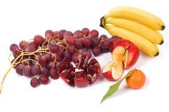 Stilleven van verse vruchten Stock Foto's