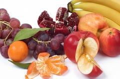 Stilleven van verse vruchten Stock Foto