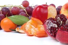 Stilleven van verse vruchten Stock Afbeeldingen