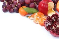 Stilleven van verse vruchten Stock Afbeelding