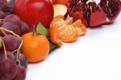 Stilleven van verse vruchten Royalty-vrije Stock Afbeeldingen
