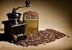 Stillevenkoffie Royalty-vrije Stock Afbeeldingen
