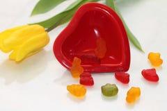 Stillevenst Valentine Dag Stock Foto