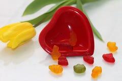 Stillevenst Valentine Dag Stock Fotografie