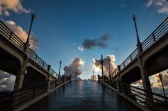 Stillhet efter stormen Arkivbild