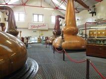 Stillheter för Glenfiddich whiskyspritfabrik Royaltyfri Fotografi