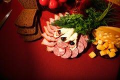 Stillife comestible Imagen de archivo libre de regalías