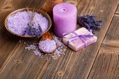 Stillleben der Lavendelblume Lizenzfreies Stockbild